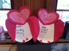 Hoo loves you? Valentine craft <3