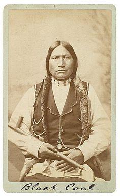 Black Coal - Northern Arapaho - 1877