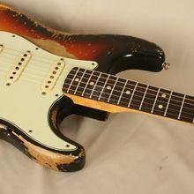 Fender Stratocaster 63 Ultra Relic Masterbuilt (2016): Detail-Bilder