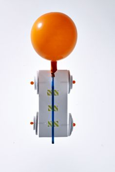 Rocket Balloon Car 3, 2, 1 . . . take off! Use our template to create a Styrofoam car and test out Newton's Third Law of Motion.
