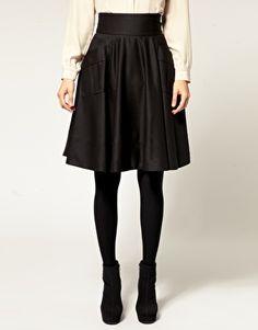 A gorgeous full circle skirt.