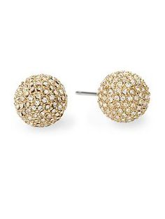 Michael Kors Fireball Pavé Stud Earring | Piperlime