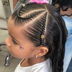 Toddler Braided Hairstyles, Toddler Braids, Toddler Hair, Down Hairstyles, Girl Hairstyles, Let Your Hair Down, Braids For Long Hair, Hair Highlights, Hair Color
