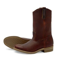 Red Wing Shoes 8159 Pecos - Amber Harness Leather | HepCat Store