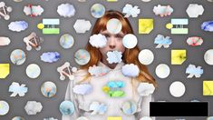 """Holly Herndon — """"HOME"""" — still, 2014  """"The definitive NSA breakup anthem""""  Music by Holly Herndon  Video directed and designed by Metahaven  RVNG Intl."""