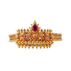 Vanki Designs Jewellery, Jewelry Design Earrings, Beaded Jewelry, Gold Bangles Design, Gold Jewellery Design, Indian Bridal Jewelry Sets, Bridal Jewellery, Wedding Jewelry, Gold Temple Jewellery