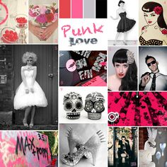 How to…Style a Pin Up/Punk/Goth Wedding · Rock n Roll Bride
