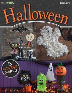 Halloween Craft Ideas 15 Facile bricolage Projets | AllFreeHolidayCrafts.com