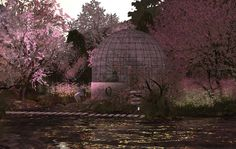 A glass dome floating in blossom | Flickr - Photo Sharing!