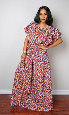 Multi Coloured Summer Dress by #Nuichan #bitcoin #shopping #summer