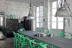 Love the floor and walls. Just throw in some pink. -talie Paola_Navone_via-Vosgesparis2#Repin By:Pinterest++ for iPad#