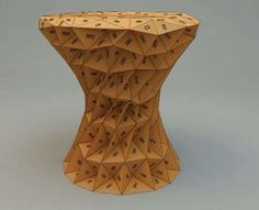 9 Best Chair Project Images On Pinterest Chairs Armchair And Cool - One-hundred-triangles-stool
