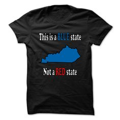 Blue State T-Shirts, Hoodies. Check Price Now ==►…