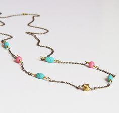 Mint & Rose #Metal #Cristal #Collares #Accesorios #Glass #Accesories #Necklaces #carambascarambitas