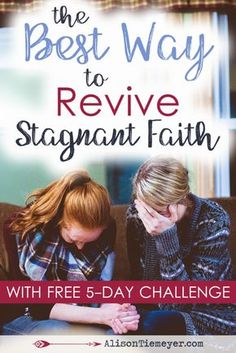 Are you stuck with stagnant faith? You want to read the Bible and seek the Lord, but have no clue how to get started? Here are some thoughts about how to commit to seeking the Lord + a FREE 5-Day Revive Your Bible Study Challenge!