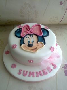 Mini Mouse Cake by Creations By Paula Jane, via Flickr
