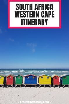 South Africa vacation: a complete itinerary + printable - Check this complete South Africa Garden Route itinerary including Cape Town, and Africa Destinations, Travel Destinations, Travel Tips, Travel Plan, Travel Advice, Travel Ideas, South Africa Beach, Travel Photographie, Africa Travel
