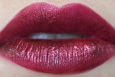 Badass Lipcolor Alert: Obsessive Compulsive Cosmetics Black Metal Dahlia. Picture is from XSparkage