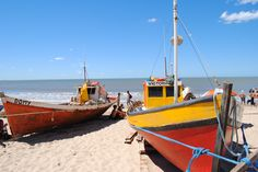 La playa de los pescadores, Punta del Diablo.