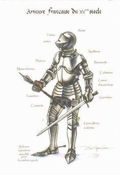 Armure Française du XVème siècle