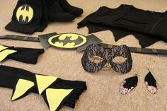 DIY Batgirl costumes. I'll be needing this at some point in my life for sure. And if I never need it, I never lived to my fullest potential.