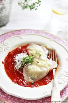 easy homemade ravioli by Marina Delio, via Flickr