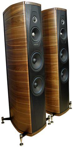 SonusFaberOlympicaIII High End Hifi, High End Audio, Hifi Speakers, Hifi Audio, Home Theater Surround Sound, Speaker Box Design, Audio Room, Loudspeaker, Audio Equipment