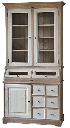 MMW BK FÜ Bolti kínáló komód üveges felső résszel | My Mood Wood China Cabinet, Storage, Furniture, Home Decor, Purse Storage, Decoration Home, Chinese Cabinet, Room Decor, Larger