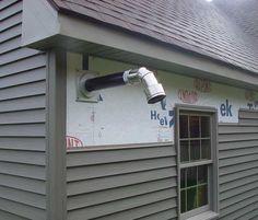 How To Vent A Pellet Stove Through A Wall Harman Pellet