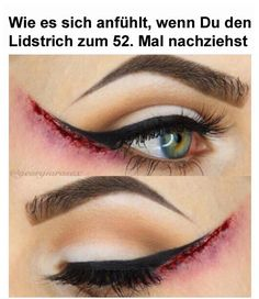 Do you plan to attend a Halloween party this year? Are you looking for eyeliner ideas which you would like to do for this Halloween season? Our post for today is just what you need! Maquillage Halloween Zombie, Halloween Face Makeup, Halloween Eyes, Diy Halloween Scars, Sfx Makeup, Costume Makeup, Makeup Art, Beauty Makeup, Hair Makeup