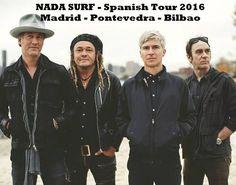 Tres citas con NADA SURF - Gira España abril 2016 http://www.woodyjagger.com/2016/04/nada-surf-gira-abril-2016-tres-citas.html