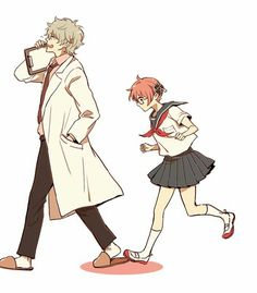 Discovered by hiragi_umaru. Find images and videos about anime, gintama and kagura on We Heart It - the app to get lost in what you love. Anime Group, We Heart It, Anime Character Drawing, Okikagu, Aesthetic Drawing, Animes Wallpapers, Anime Couples, Samurai, Anime Art