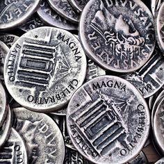 @Rhonda Davis Insert coin #descobreixbaetulo #magna2014 #barcelonaesmoltmes #bcnmoltmes #coin #moneda #roma #badalona