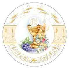Première Communion, First Communion Gifts, First Holy Communion, Holy Communion Invitations, Page Borders Design, Baptism Decorations, Religious Pictures, Prayer Box, Eucharist