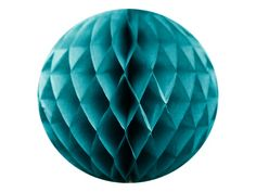Honeycombs av silkepapir - teal Teal, Table Lamp, Honeycombs, Paper, Fifty Shades, Home Decor, Confetti, Lamp Table, Interior Design