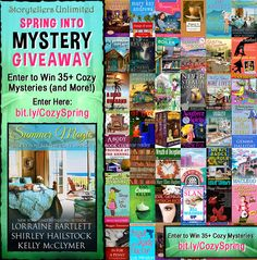 Win 35+ Cozy Mysteries PLUS a Kindle Fire!