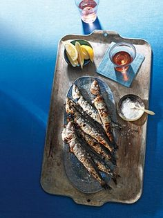 Portuguese Whole Sardines... MMMM I used to eat these as a kid!