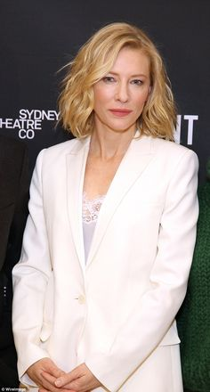 Debut: Cate made her Broadway debut in the Sydney Theatre Company's production of The Present at New York's Ethel Barrymore Theatre earlier this month