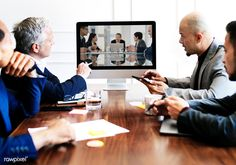 Business people in a meeting - Buy this stock photo and explore similar images at Adobe Stock Conference Meeting, Business Meeting, The New Normal, Business Photos, Free Photos, Model Release, Royalty Free Images, Illustrations Posters, Stock Photos