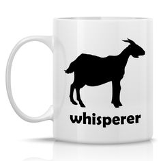 Homestead Goats Coffee Mug  Goat Whisperer by RuralLivingTodayShop, $13.99