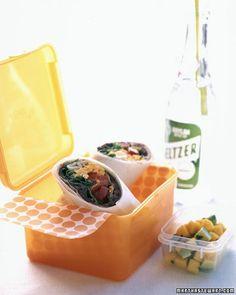 vegetarian - Taco-Salad Wraps