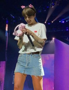 Foto Jungkook, Bts Jungkook And V, Jungkook Fanart, Jimin, Guys In Skirts, Boys Wearing Skirts, Kpop Hair, Feminized Boys, Vkook