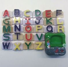 Leap Frog Fridge Phonics Alphabet Set 26 Magnetic Letters Singing Educational 3