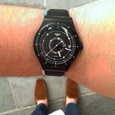 #Swatch SISTEM BLACK http://swat.ch/1nMNnjY  ©isaacwin