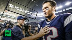 """Tony Romo to Tom Brady After Cowboys' Loss: """"See You In February"""" Your full of BS ROMO"""