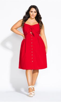 Sweetly Tied Dress Red Shop Women 39 S Plus Size Sweetly Tied Dress Red Dresses City Chic Usa Red Dress Casual, Casual Dresses, Dress Red, Fancy Dress, Summer Dresses, Flattering Plus Size Dresses, Plus Size Outfits, Plus Size Cocktail Dresses, Plus Size Red Dress