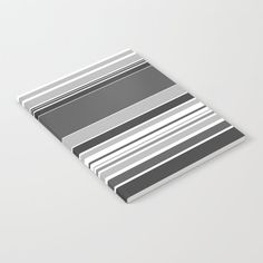 complex Stripes Grey Notebook by laec Writing Notebook, Notebooks, Stripes, Grey, Gray, Notebook, Line Art, Laptops, Scrapbooking