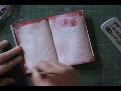 Art Journal Technique: Preparing a Junk Journal by Leslie Herger