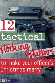 Love these tactical stocking stuffers ideas! Especially the pre-put together stocking because I'm not feeling that creative this year haha