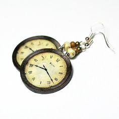 Clock Earring